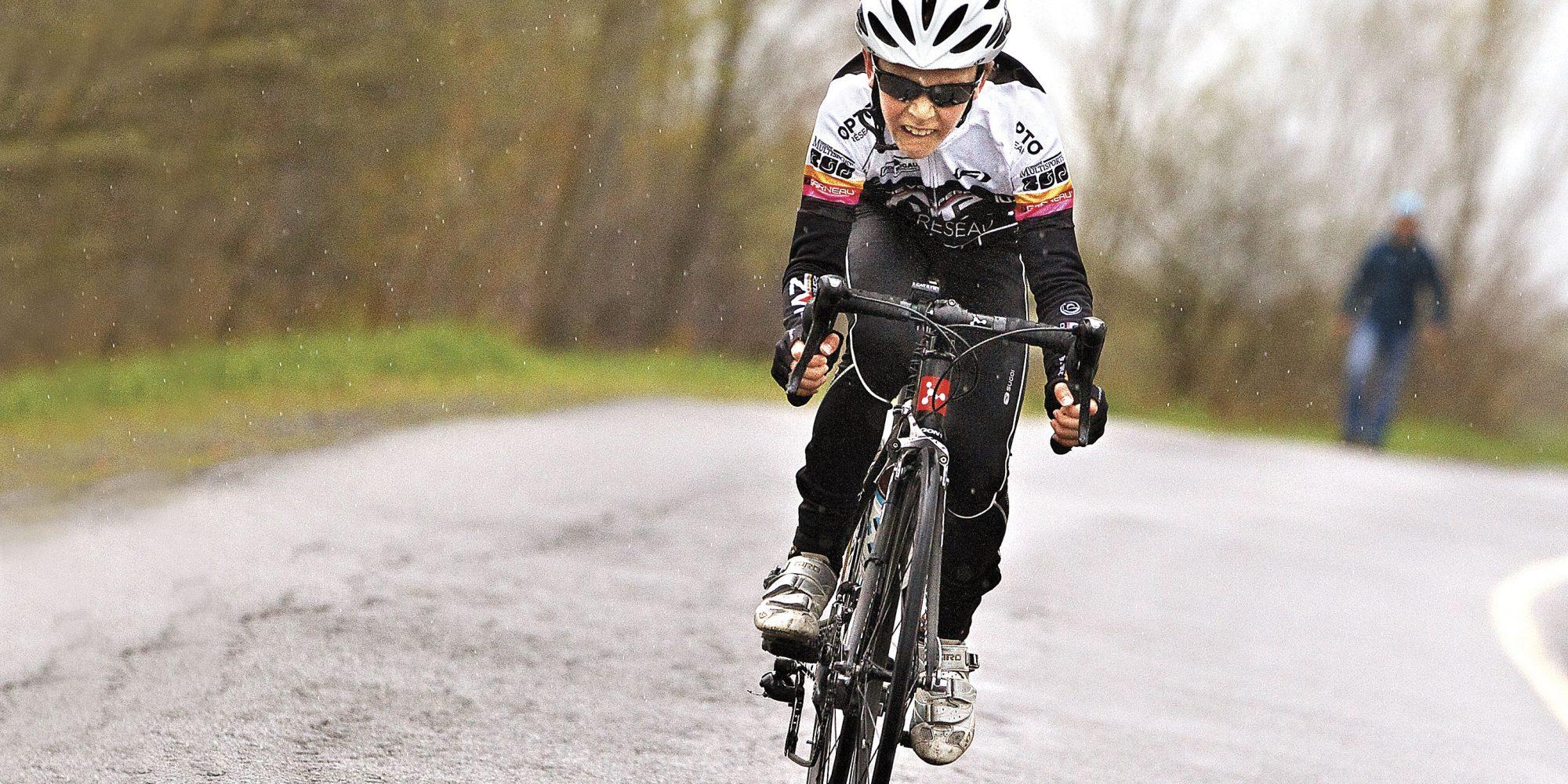 William Bourbonnais, coureur cycliste : L'homme à battre