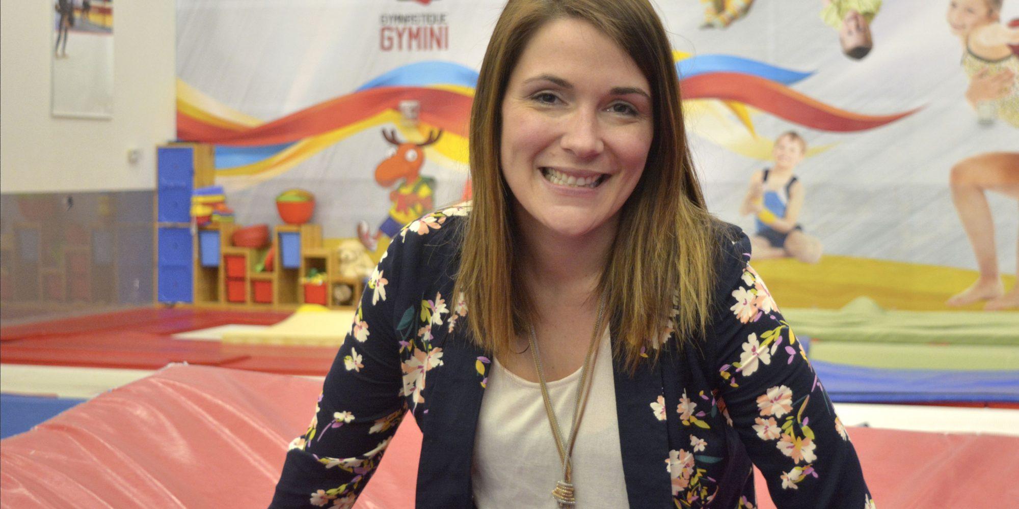 Valérie Villeneuve : La jeune fille qui ne faisait pas la roue
