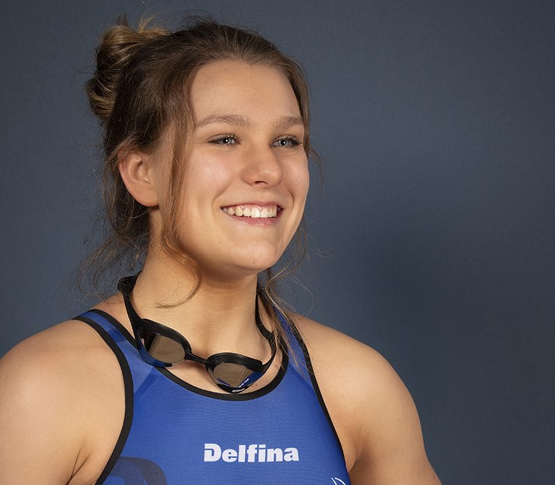 Alyssa Ball, nageuse: Nager dans son sillon