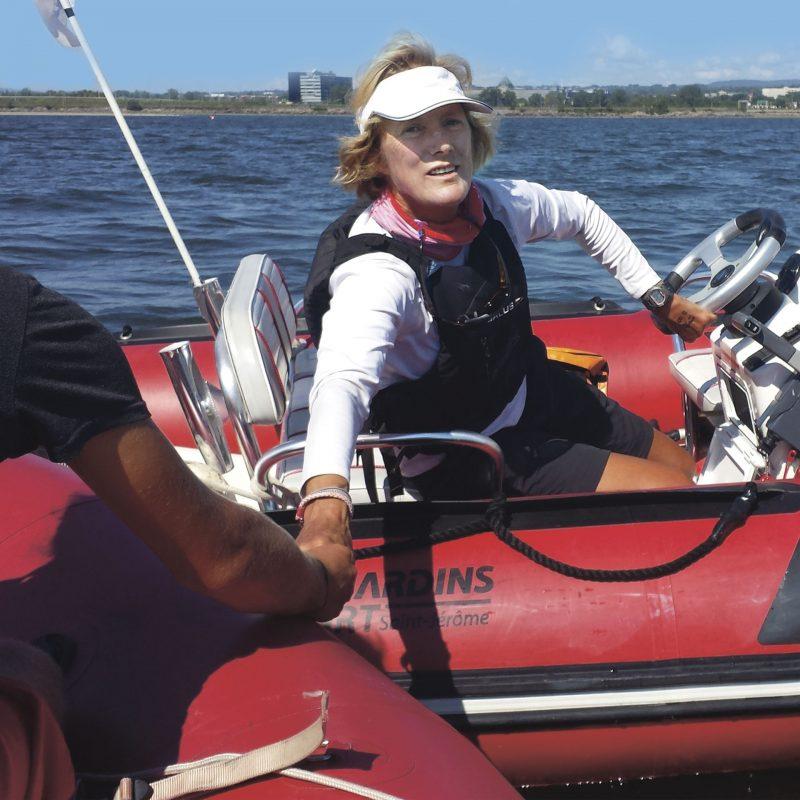 Carmen Denis : Le vent dans les voiles