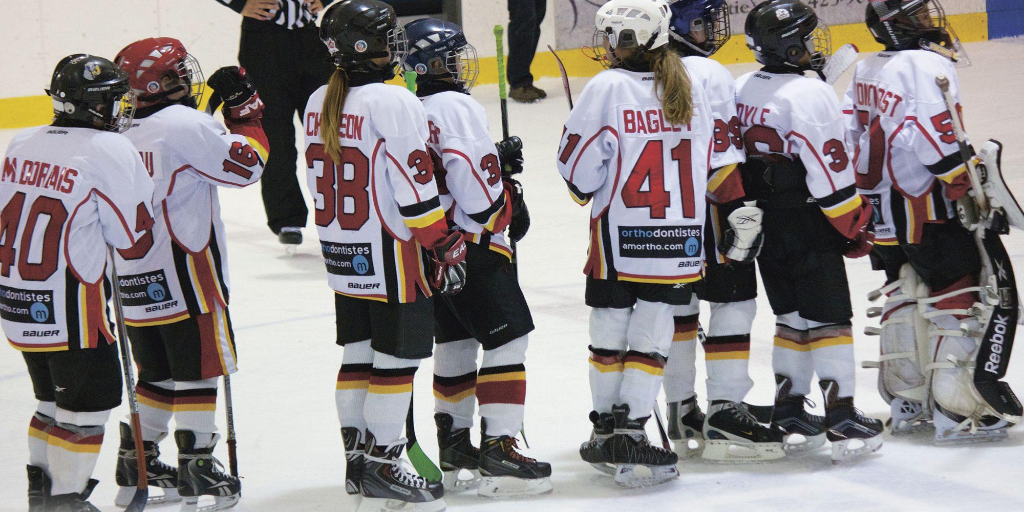 Hockey mineur et joies majeures