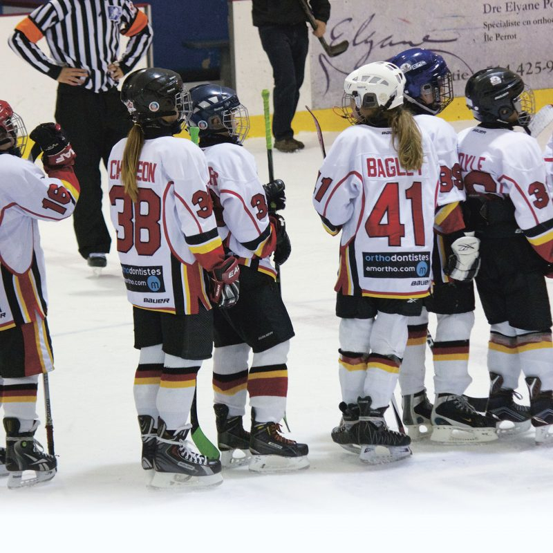 Hockey mineur et joies majeures