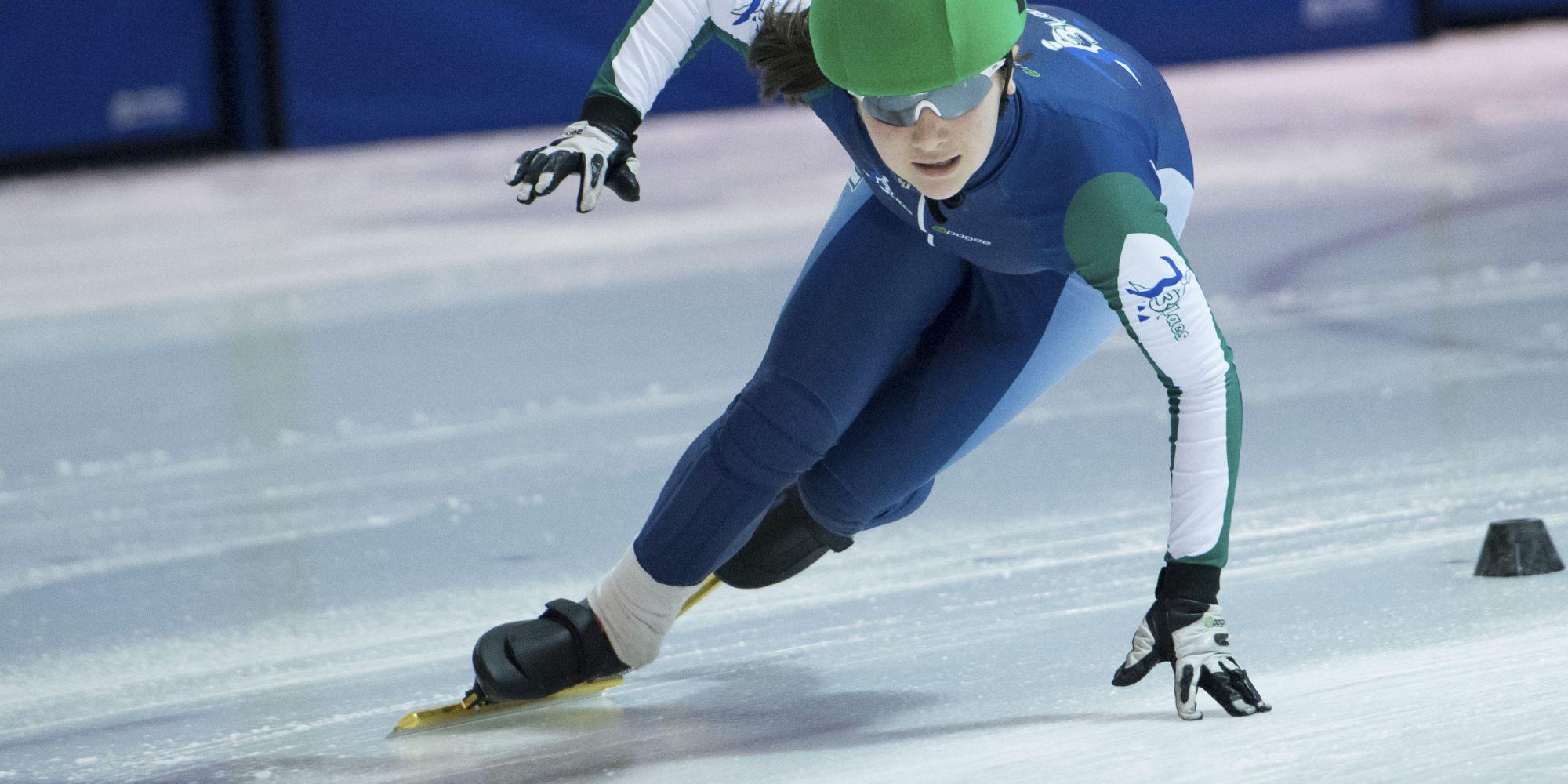Sarah-Jeanne Carey, patineuse de vitesse : De lames et de glaces
