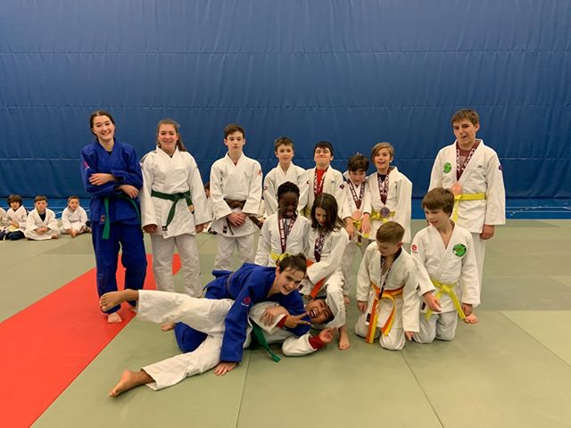 Les judokas du Club de judo du Centre Multisports remportent 10 médailles