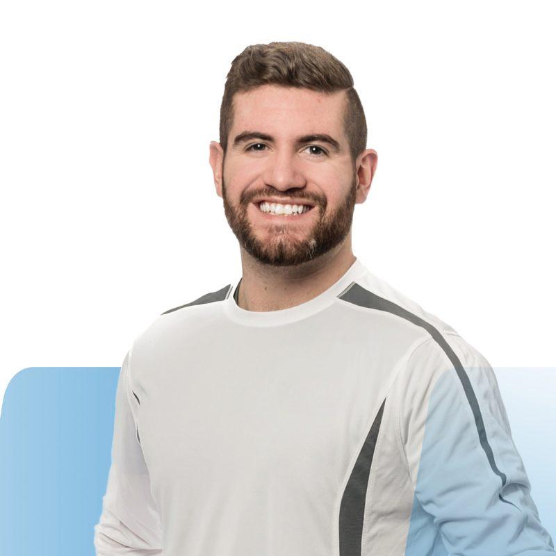 (Français) Sébastien Fournier – Le kinésiologue résilient au sourire contagieux
