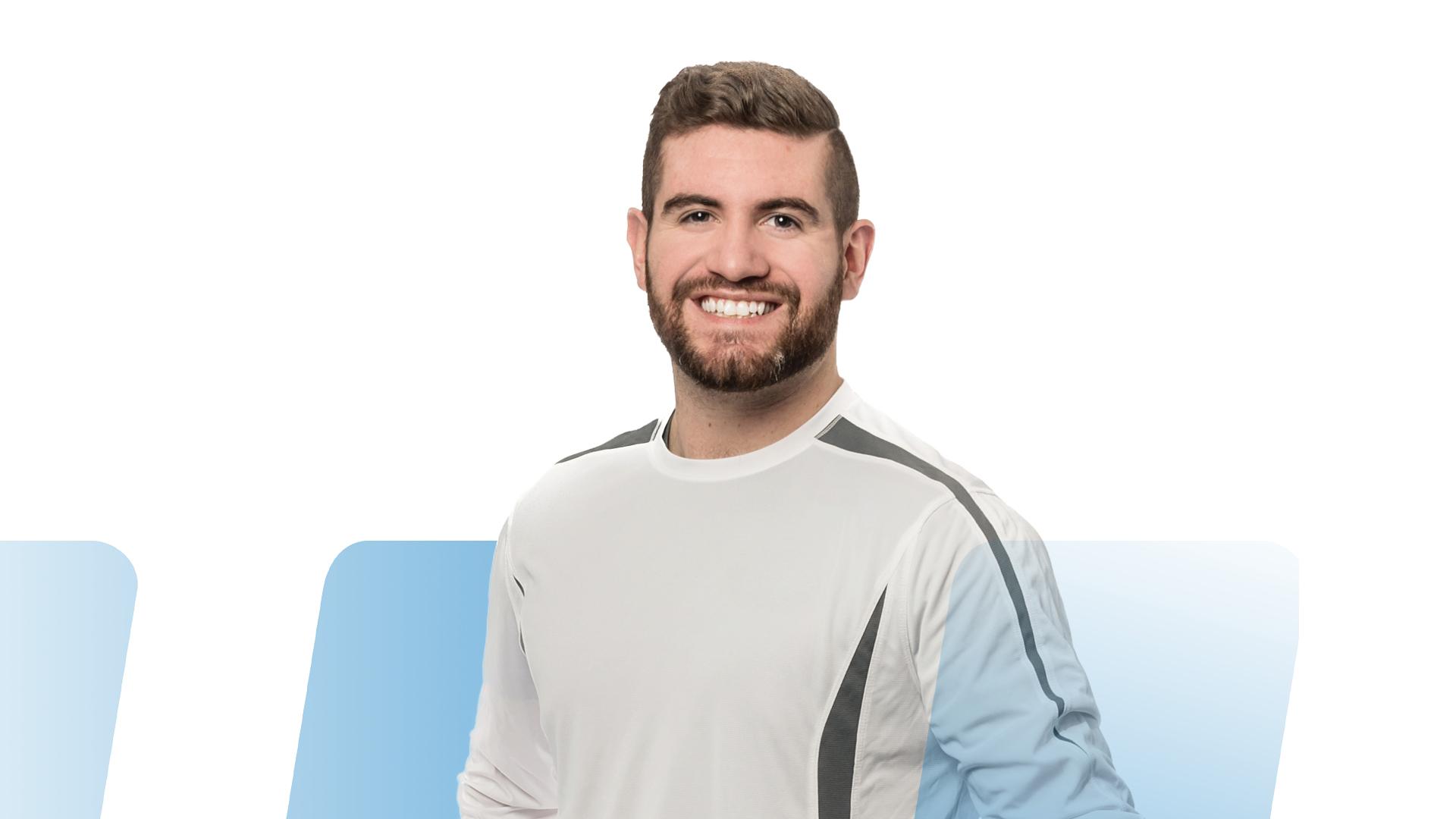 Sébastien Fournier – Le kinésiologue résilient au sourire contagieux
