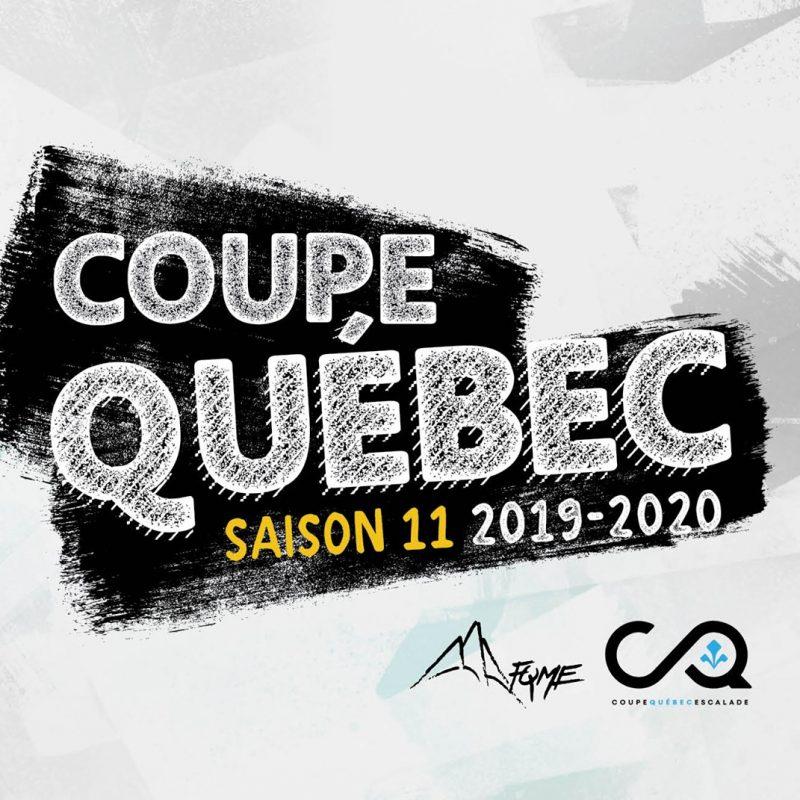 Le Centre Multisports reçoit la Coupe Québec d'Escalade
