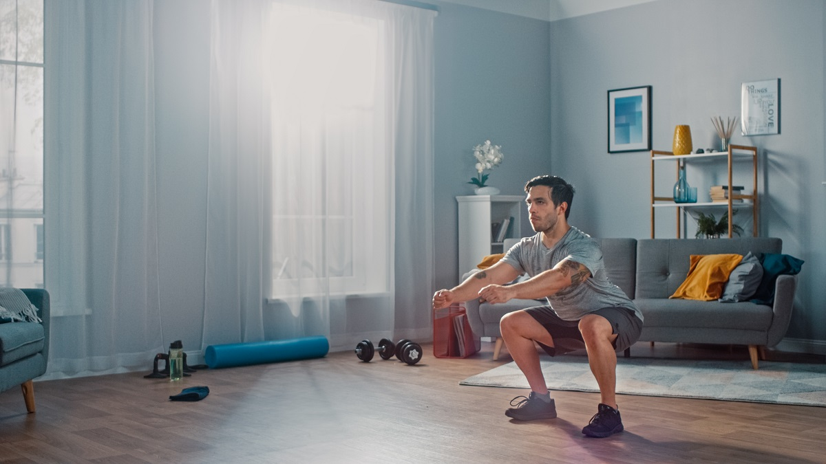 Programme de préparation sportive adapté à la maison avec Vincent